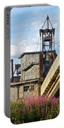 Historic Gold Dredge In Chicken-ak  Portable Battery Charger