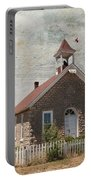 Historic Hinerville School  House  Portable Battery Charger
