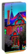 Historic House Pop Art Portable Battery Charger