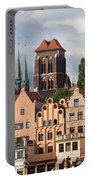 Historic Houses In Gdansk Portable Battery Charger
