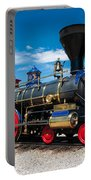 Historic Jupiter Steam Locomotive - Promontory Point Portable Battery Charger by Gary Whitton