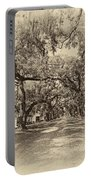 Historic Lane Antique Sepia Portable Battery Charger by Steve Harrington