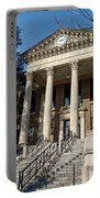 Historic Limestone County Courthouse In Athens Alabama Portable Battery Charger