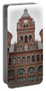 Historic Old Red Courthouse Dallas #1 Portable Battery Charger