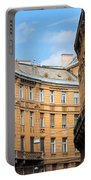 Historic Tenement Houses In Budapest Portable Battery Charger