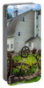 Historic Uniontown Washington Dairy Barn Portable Battery Charger
