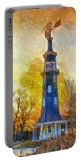 Historic Windmill Dwight Il Photo Art Portable Battery Charger