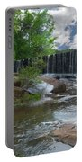 Historic Yates Mill Dam - Raleigh N C Portable Battery Charger