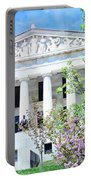 Historical Museum In Spring Portable Battery Charger