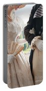 Historical Couple Arm In Arm Portable Battery Charger
