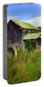Historical Whites Mill Portable Battery Charger by Karen Wiles