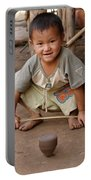 Hmong Boy Portable Battery Charger