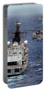 Hms Cornwall Is Pictured Receiving Stores By Merlin Helicopter  Portable Battery Charger