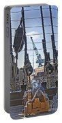 Hms Victory Cannon Portable Battery Charger
