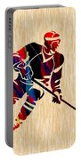 Hockey Player Portable Battery Charger