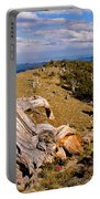 Hoe-down At The Top Of The World Portable Battery Charger