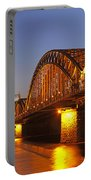 Hohenzollernbrucke In Cologne Portable Battery Charger
