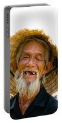 Hoi An Fisherman Portable Battery Charger by David Smith