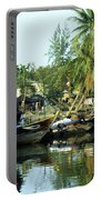 Hoi An Fishing Boats 01 Portable Battery Charger