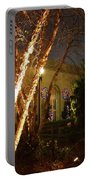 Holiday Birches Portable Battery Charger