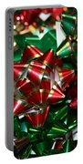 Holiday Bows Portable Battery Charger