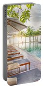 Holiday Resort Portable Battery Charger