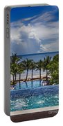 Holiday Resort With Jacuzzi And Pool Portable Battery Charger