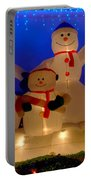 Holiday Snowmen 2 Portable Battery Charger