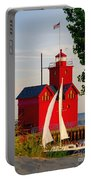 Holland Lighthouse Portable Battery Charger
