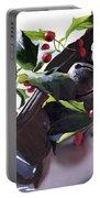 Holly And Bells Portable Battery Charger