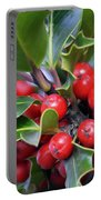 Holly Berries 2 Portable Battery Charger