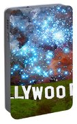Hollywood 2 - Home Of The Stars By Sharon Cummings Portable Battery Charger