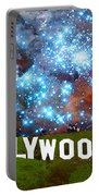 Hollywood 2 - Home Of The Stars By Sharon Cummings Portable Battery Charger by Sharon Cummings