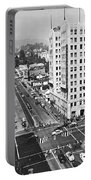 Hollywood And Vine In La Portable Battery Charger