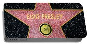 Hollywood Walk Of Fame Elvis Presley 5d28923 Portable Battery Charger