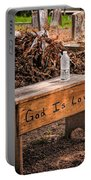 Holt Cemetery - God Is Love Bench Portable Battery Charger
