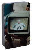 Holy Cow Phil Rizzuto Retired Yankee Number On 08 04 1985 Portable Battery Charger