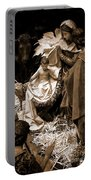 Holy Family Nativity - Color Monochrome Portable Battery Charger