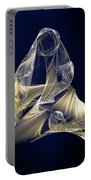 Holy Mother And Child Abstract II Portable Battery Charger