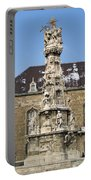Holy Trinity Statue Budapest Portable Battery Charger