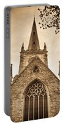 Holy Trinity Stratford On Avon Sepia Portable Battery Charger