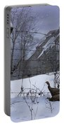 Home Through The Snow Portable Battery Charger
