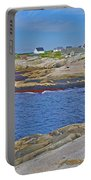 Homes Across Peggy's Cove-ns Portable Battery Charger