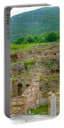 Homes Of The Rich In Central Ephesus-turkey Portable Battery Charger