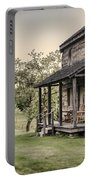 Homestead At Dusk Portable Battery Charger by Heather Applegate
