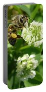 Honey And Clover Portable Battery Charger