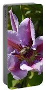 Honey Bee At Work Portable Battery Charger