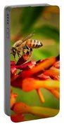 Honey Bee Profile Portable Battery Charger