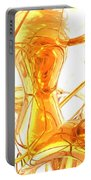 Honey Painted Abstract Portable Battery Charger