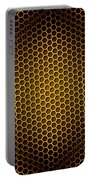 Honeycomb Background Seamless Portable Battery Charger